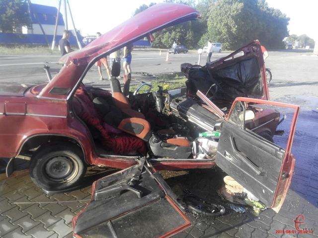 Шокуюче відео аварії у якій загинула ціла сім'я на Хмельниччині