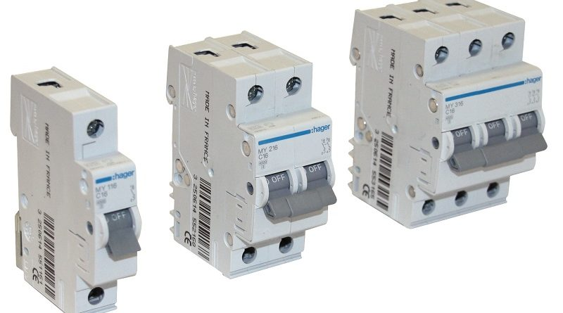 Автоматичні вимикачі Hager