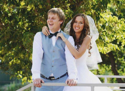 свадьба невеста жених костюм платье